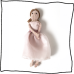 Personalised Bridesmaid Doll