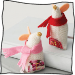 Personalised Christmas Mouse