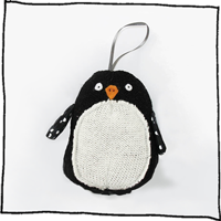 Penguin tree decoration by Laura Long